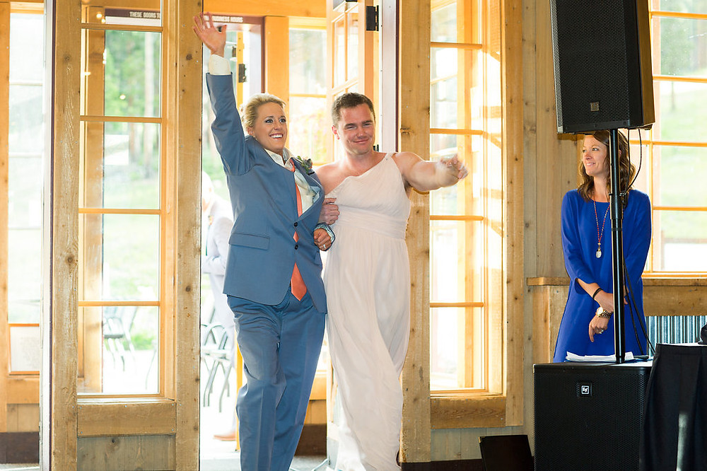 Ten Mile Station Wedding - Breckenridge Wedding Planner - Wedding Couple