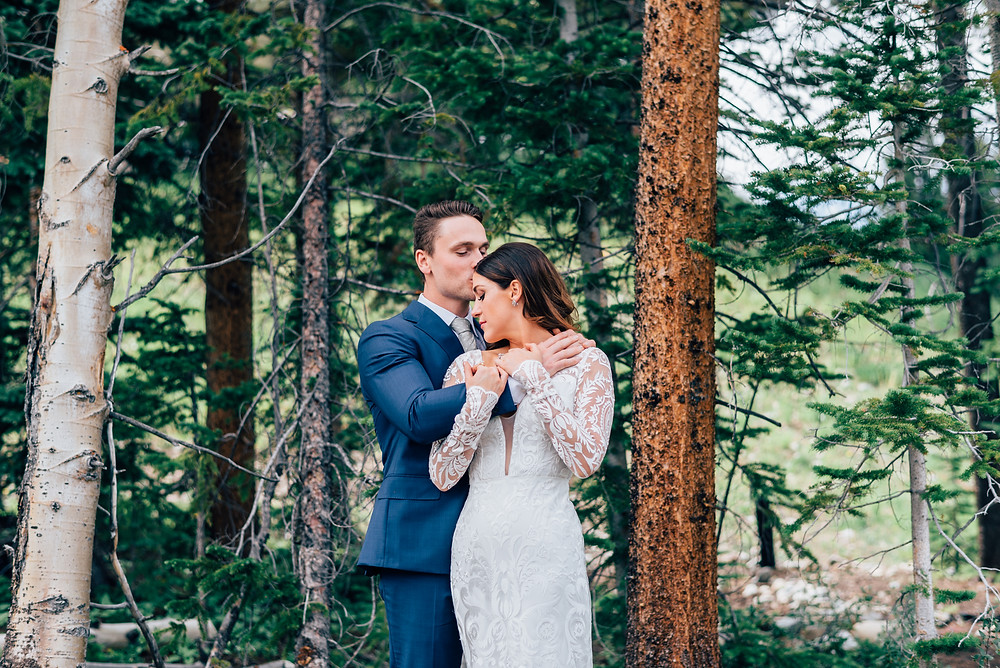 Breckenridge Wedding Couple