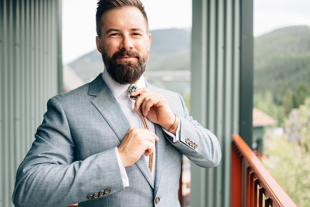 Keystone Wedding Planner - Timber Ridge Wedding - Groom