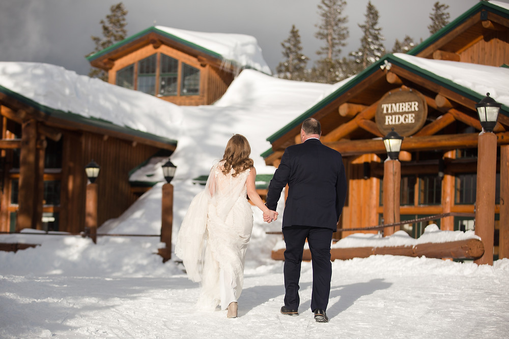 Keystone Wedding Planner - Alpenglow Stube Wedding - Wedding COuple
