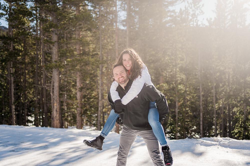 Silverthorne Wedding Couple - Engagement Shoot