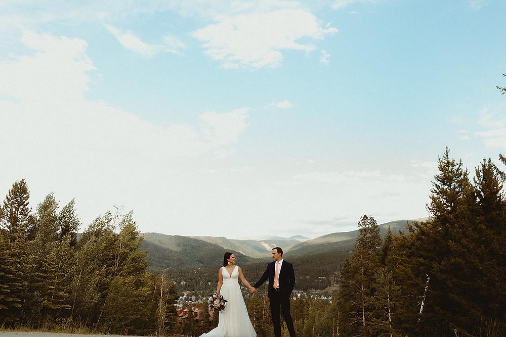 Chateau of Breckenridge - Breckenridge Wedding - Bride and Groom