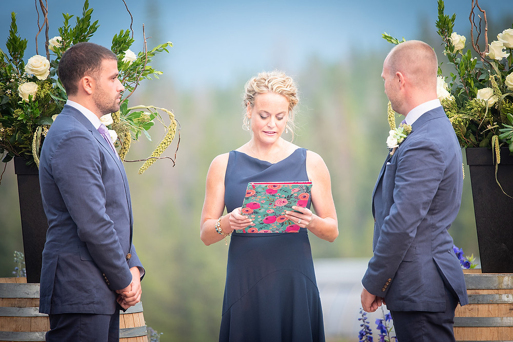 Breckenridge Wedding Planner - Ten Mile Station Wedding - Same Sex Wedding - Wedding Ceremony