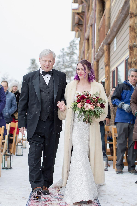 Breckenridge Wedding Planner - The Lodge at Breckenridge Wedding - Father Daughter