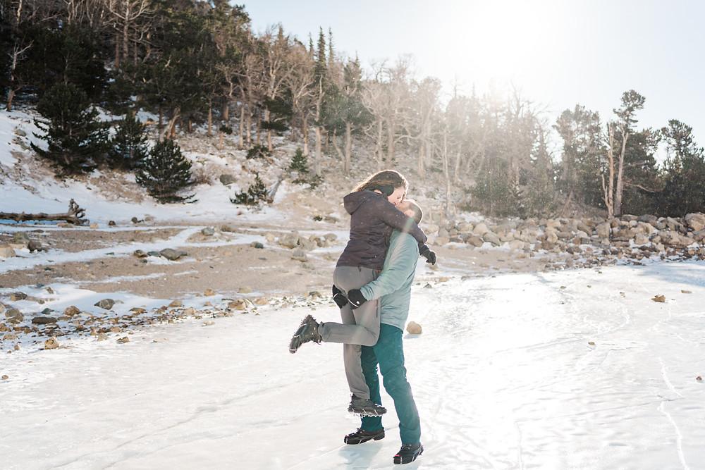 Silverthorne Couple Engagement Shoot