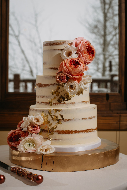 Breckenridge Wedding - Breckenridge Winter Wedding - The Lodge at Breckenridge Wedding - Wedding Cake