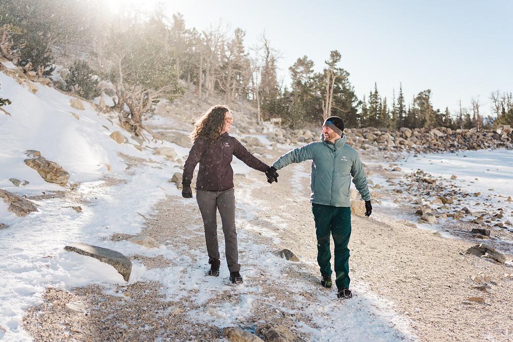 Silverthorne Couple Engagement Shoot - Wedding Couple