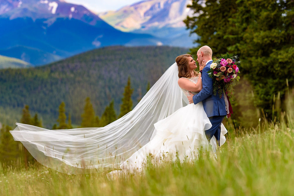 Keystone Wedding Planner - Timber Ridge Wedding - Bride and Groom