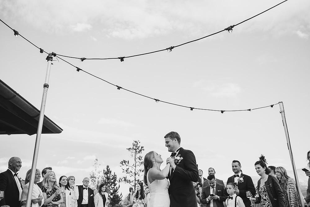 Breckenridge Wedding Planner - Chateau of Breckenridge Wedding - First Dance