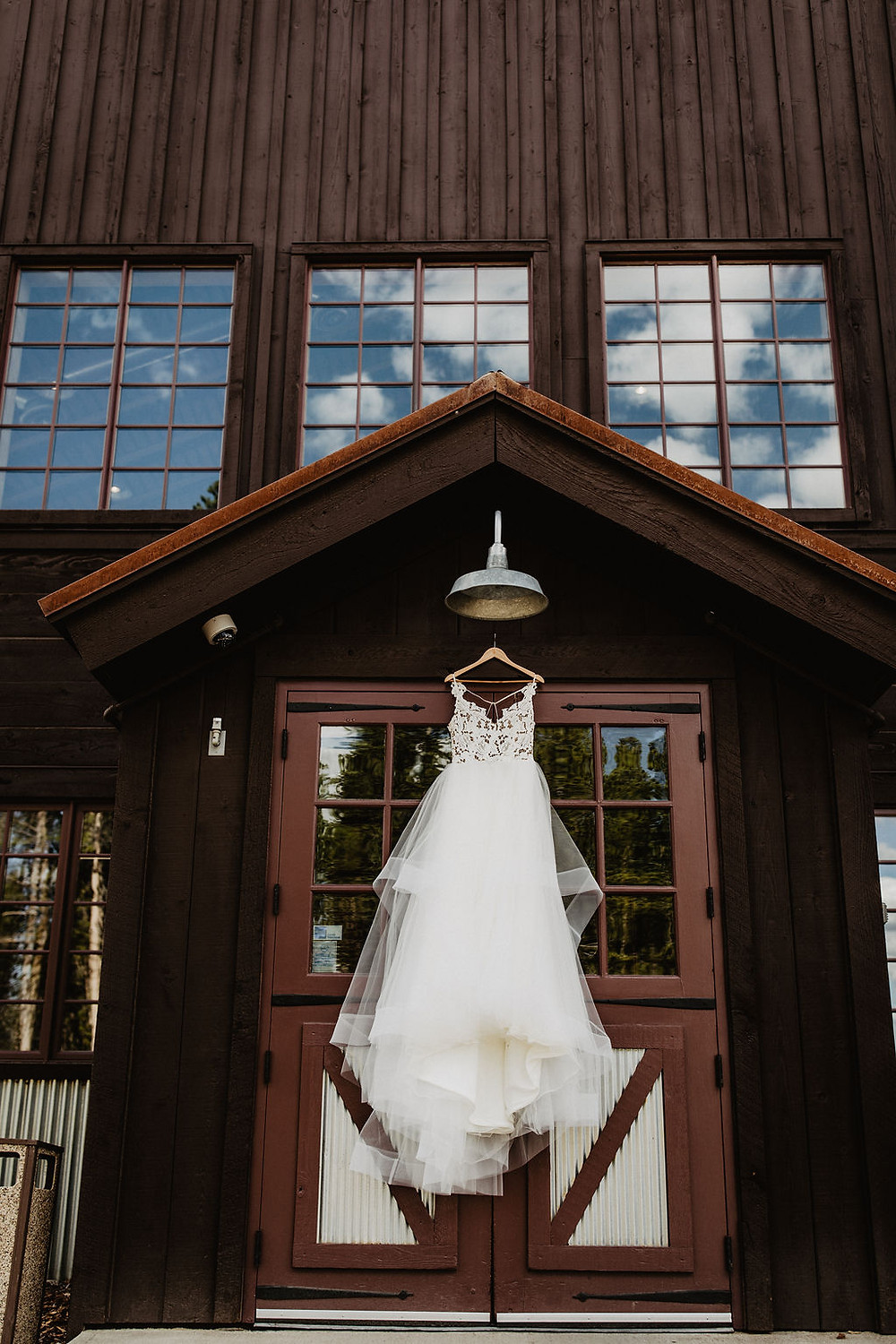 Breckenridge Wedding - Ten Mile Station Wedding - Wedding Dress