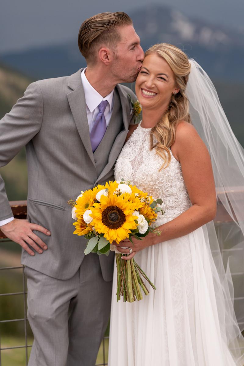 Keystone Wedding Planner - Keystone Ranch Wedding - bride and groom