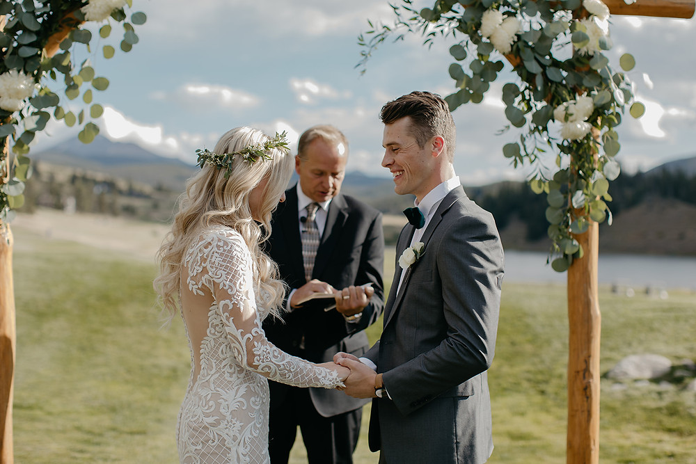 Keystone Wedding - Keystone Ranch Wedding - Wedding Ceremony