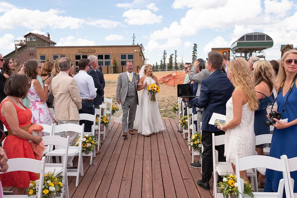 Keystone Wedding Planner - Keystone Ranch Wedding - Wedding Ceremony