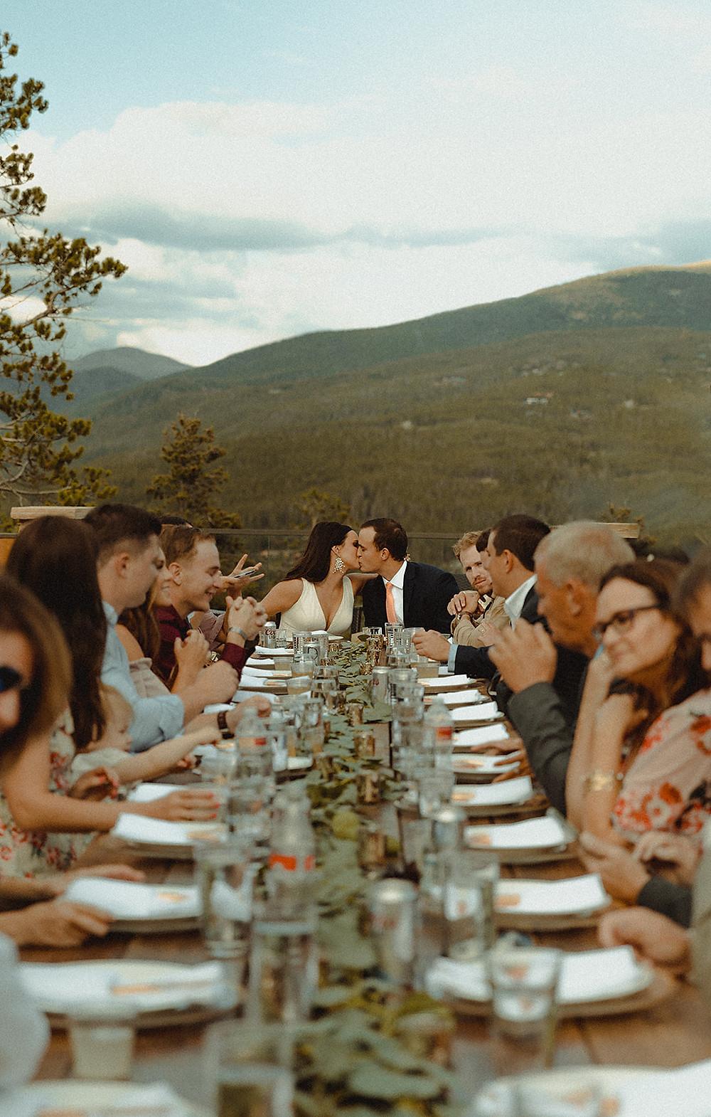 Chateau of Breckenridge Wedding - Breckenridge Wedding - Wedding Dinner
