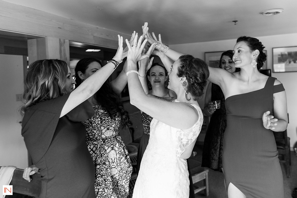 Keystone Wedding - Keystone Ranch Wedding - Bride and Bridesmaids