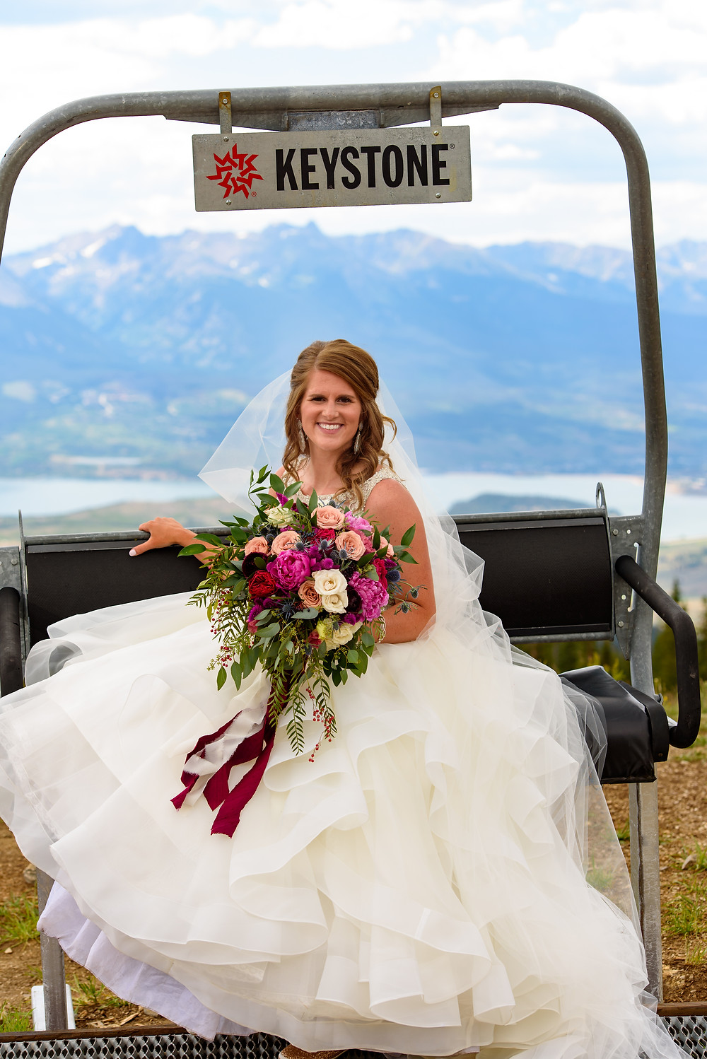 Keystone Wedding Planner - Timber Ridge Wedding - Bride