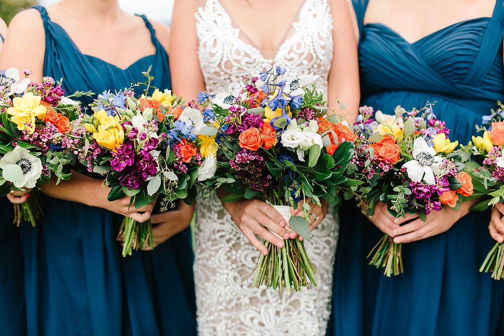 Breckenridge Wedding Planner - Ten Mile Station Wedding - Bride and Bridesmaids