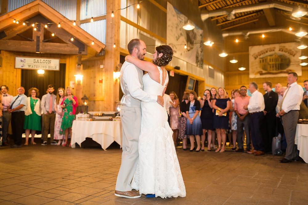 Breckenridge Wedding - Ten Mile Station Wedding - First Dance