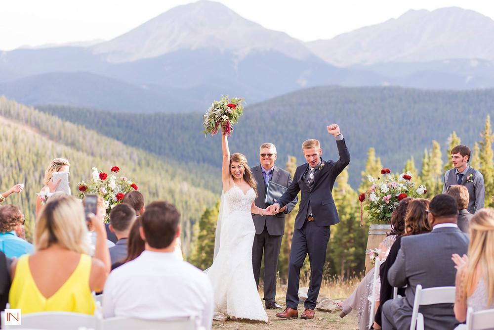 Breckenridge Wedding - Just Married