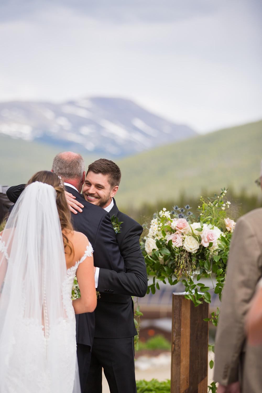 Breckenridge Wedding, Ten Mile Station Wedding, Wedding Ceremony