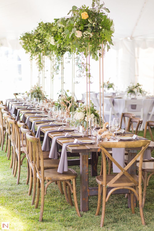 Keystone Wedding - Keystone Ranch Wedding - Centerpiece