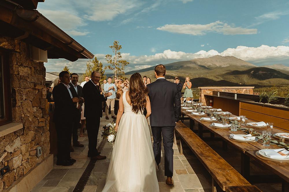 Chateau of Breckenridge Wedding - Breckenridge Wedding - Grand Entrance