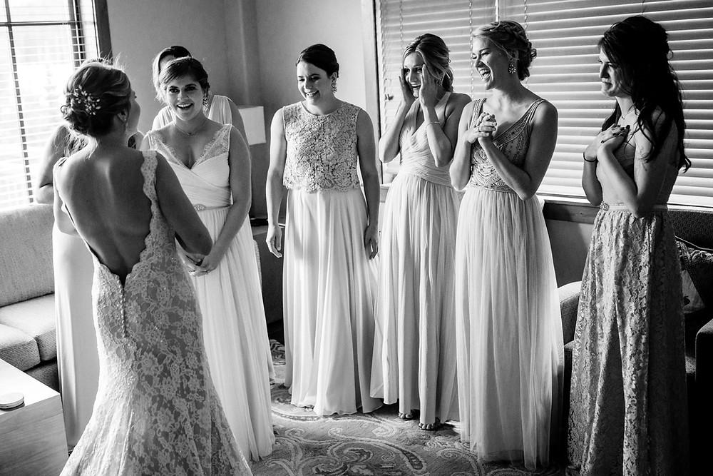 Breckenridge Wedding Planner - Breckenridge Bride and her Bridesmaids