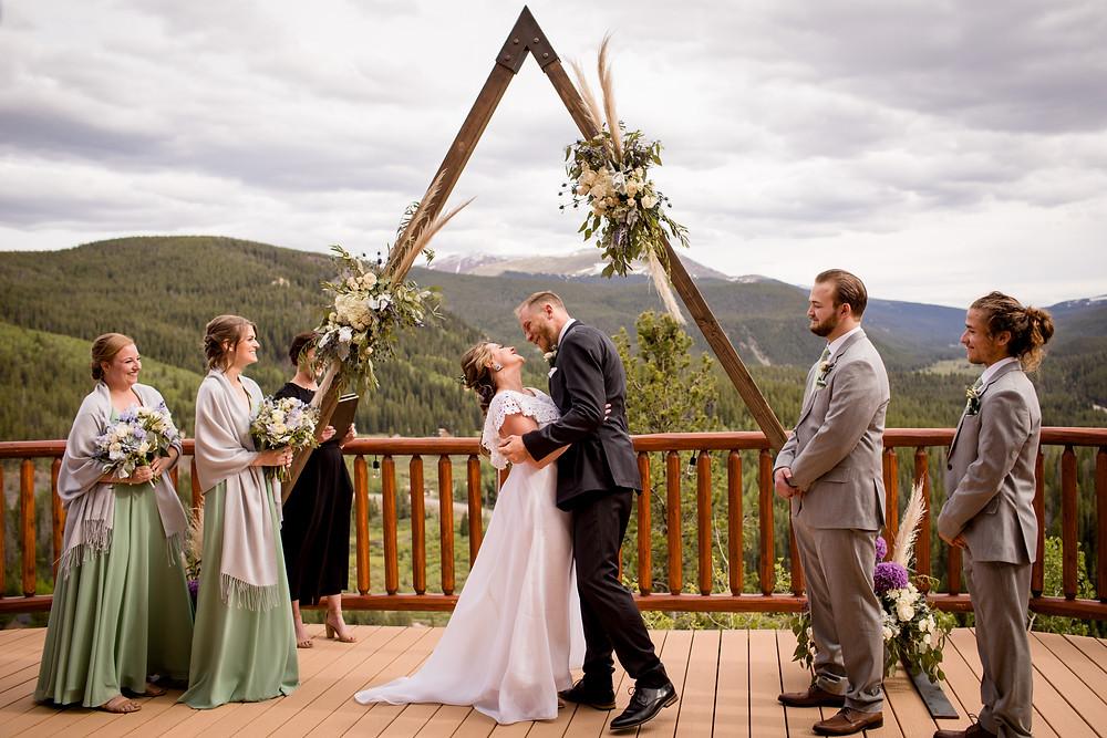 The Lodge at Breckenridge Wedding - Wedding Ceremony