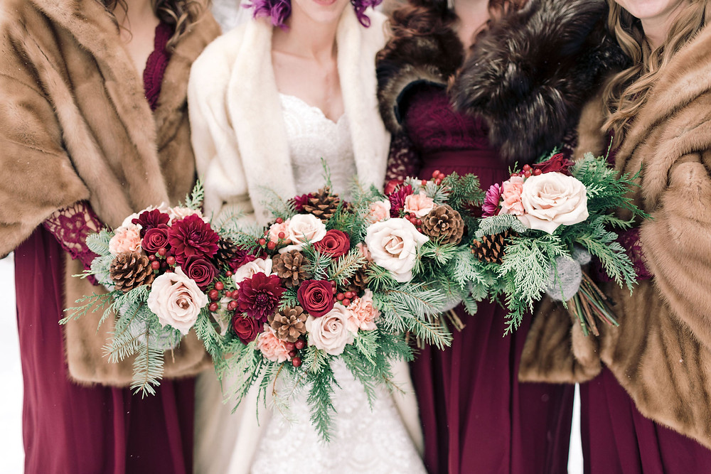 Breckenridge Wedding Planner - The Lodge at Breckenridge Wedding - Bride and Bridesmaids