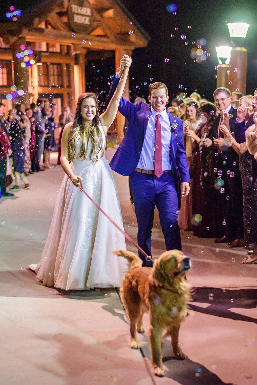 Timber Ridge Wedding - Keystone Wedding - Dog in Wedding