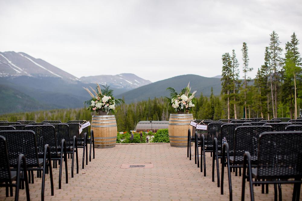 Breckenridge Wedding Planner - Ten Mile Station Wedding - Ceremony Site