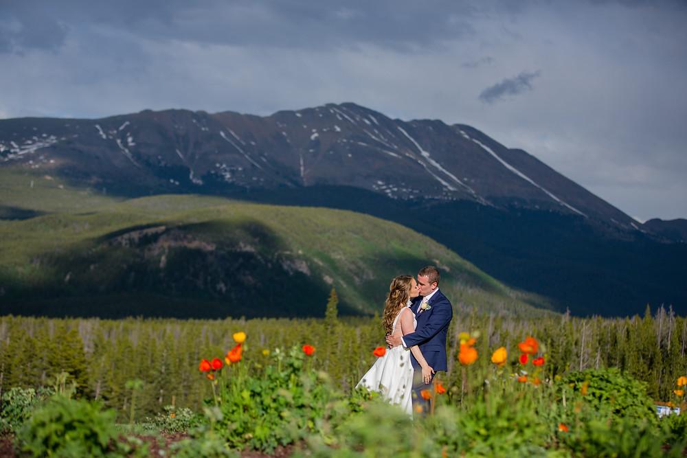 Breckenridge Wedding Planner - Ten Mile Station Wedding - Bride and Groom