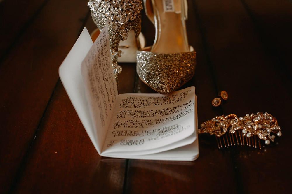 Breckenridge Wedding - Breckenridge Winter Wedding - The Lodge at Breckenridge Wedding - Wedding shoes