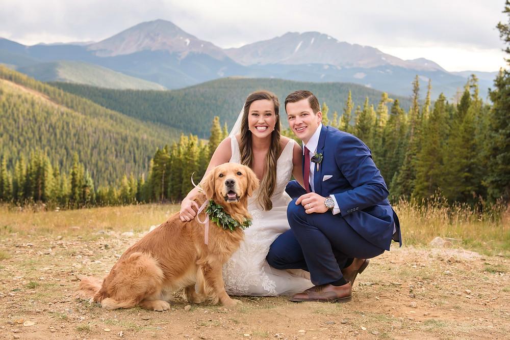 Timber Ridge Wedding - Dog in Wedding - Keystone Wedding