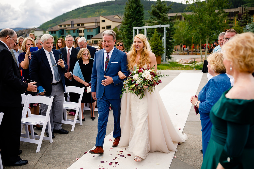 Copper Mountain Wedding Planner - Father Daughter