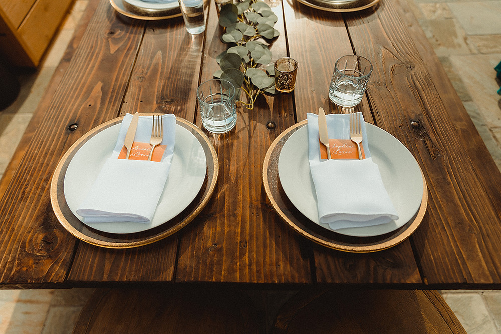 Chateau of Breckenridge - Breckenridge Wedding - Table Setting