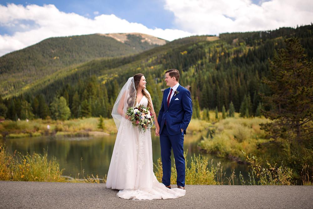 Keystone Wedding First Look, Timber Ridge Wedding