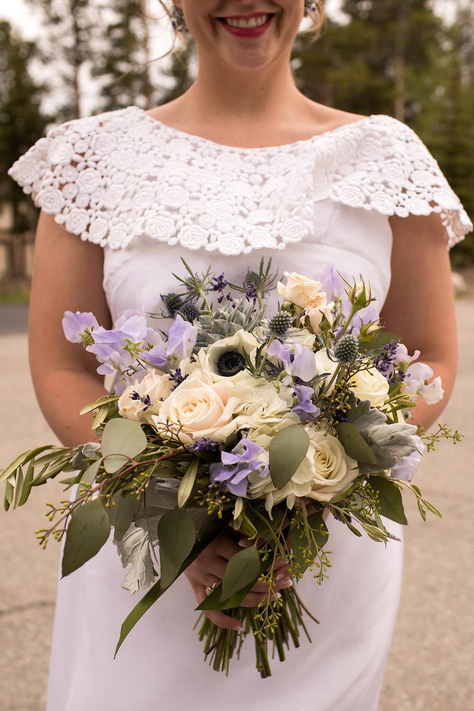 The Lodge at Breckenridge Wedding - Wedding Bouquet - Bride