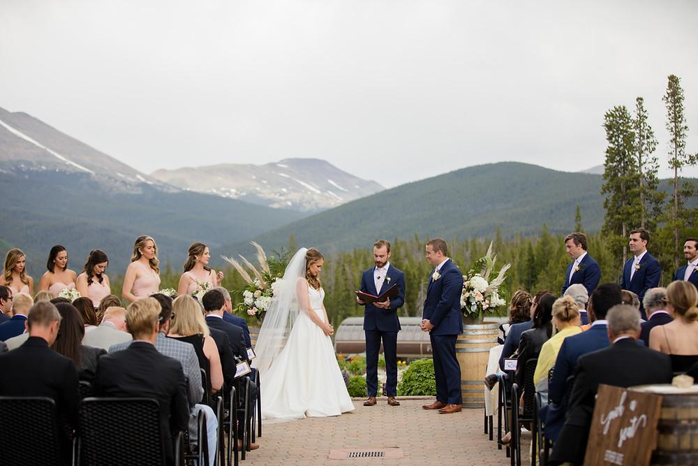 Breckenridge Wedding Planner - Ten Mile Station Wedding - Wedding Ceremony