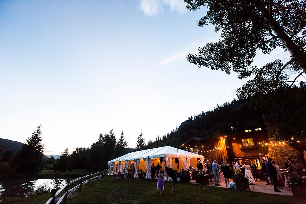 Keystone Wedding Reception, Ski Tip Lodge Wedding