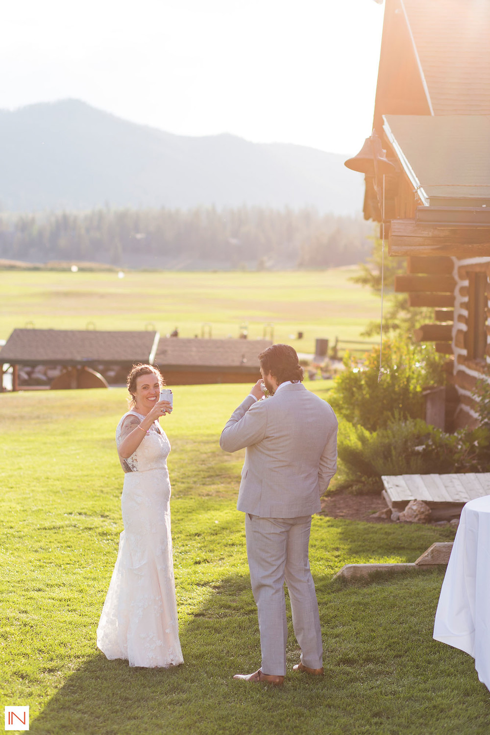 Keystone Wedding - Keystone Ranch Wedding - Bride and Groom