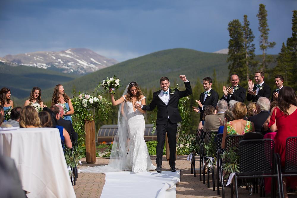 Breckenridge Wedding Ceremony, Ten Mile Station Wedding