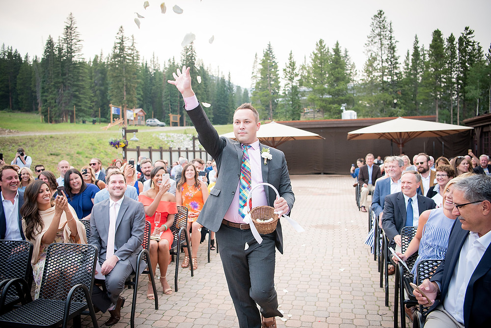 Breckenridge Wedding Planner - Ten Mile Station Wedding - Same Sex Wedding - Flower Man