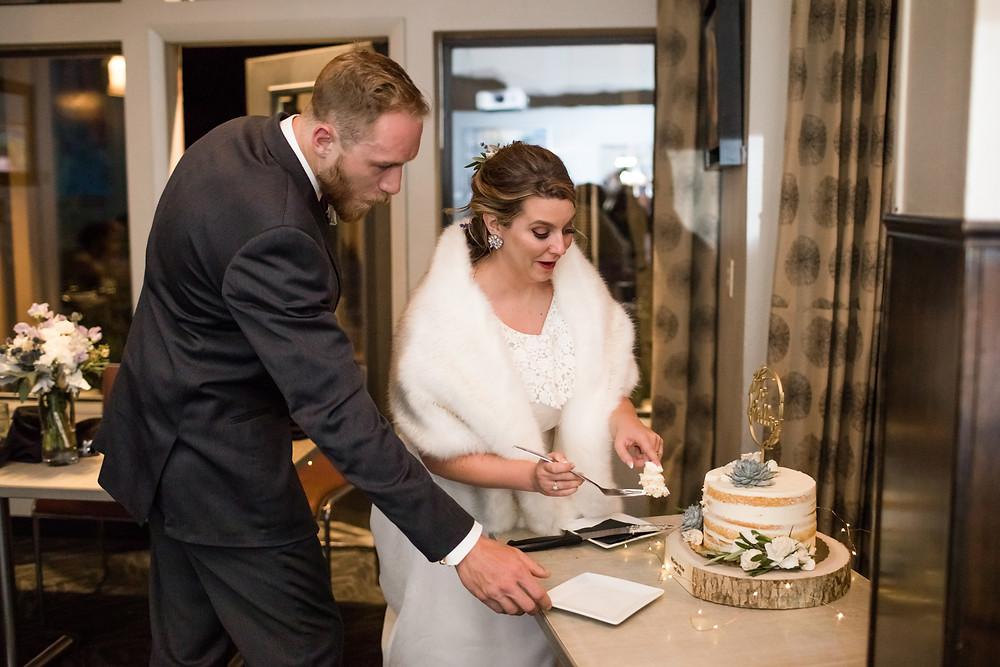 The Lodge at Breckenridge Wedding - Blue River Bistro Wedding Reception