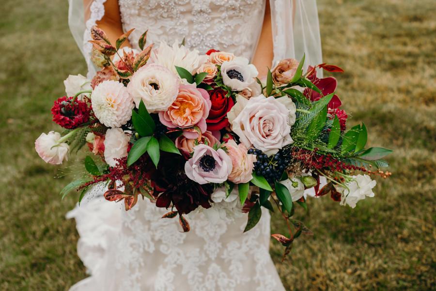 Breckenridge Wedding - Ten Mile Station Wedding - Bridal Bouquet