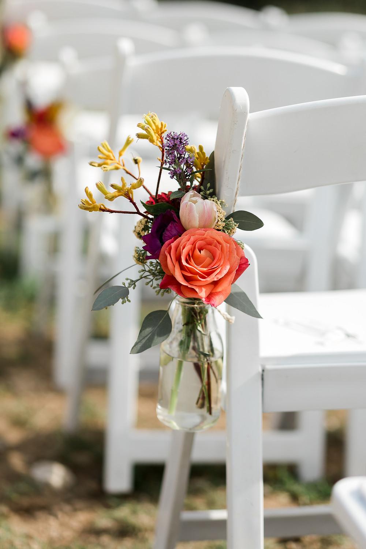 Keystone Wedding Planner - Keystone Wedding Aisle Flowers