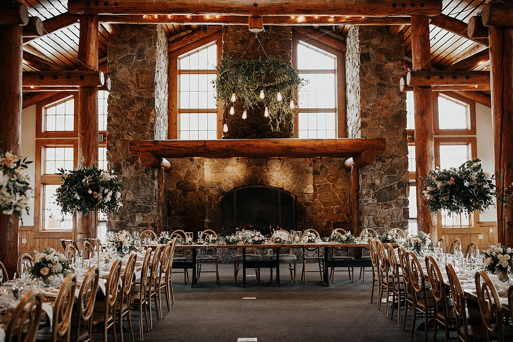 Keystone Wedding Planner - Timber Ridge Wedding - Reception Space