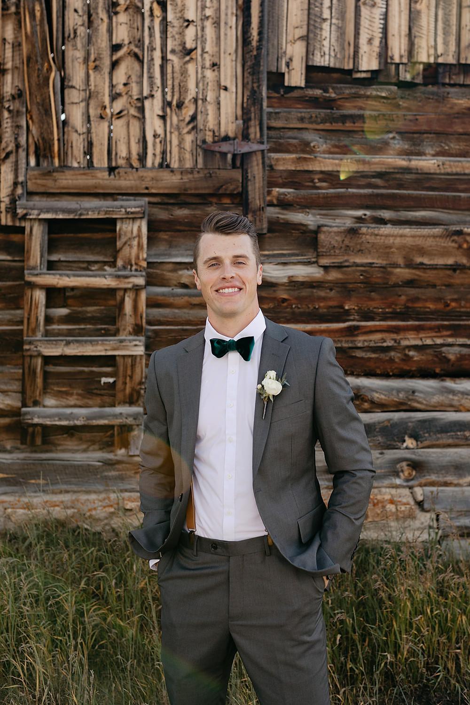 Keystone Wedding - Keystone Ranch Wedding - Groom