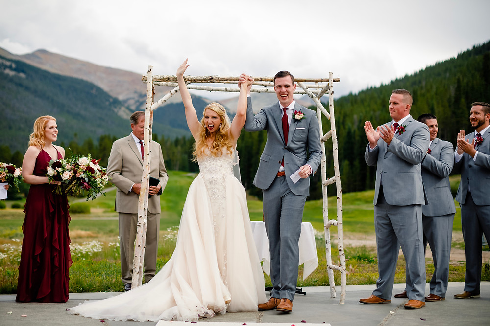 Copper Mountain Wedding Planner - Just Married