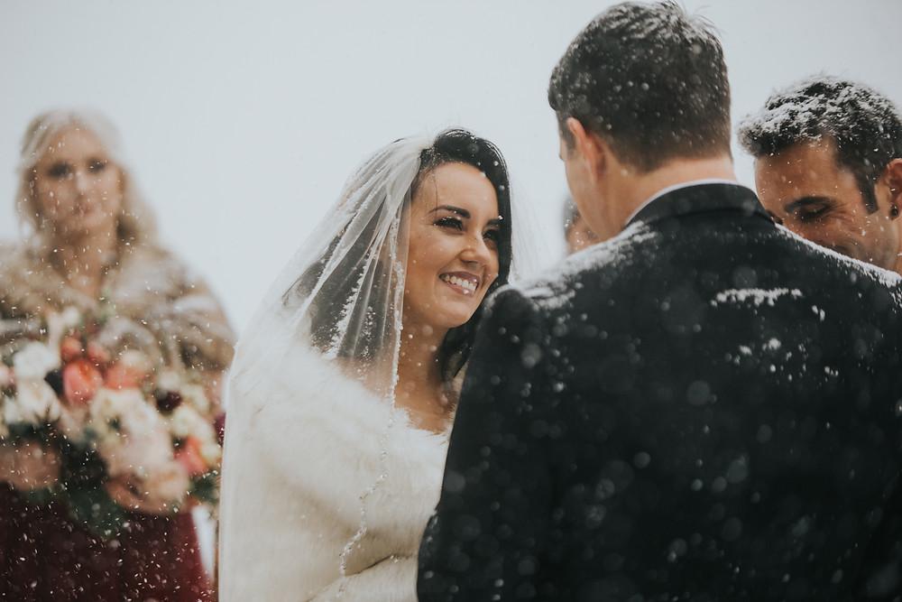 Breckenridge Wedding - Breckenridge Winter Wedding - The Lodge at Breckenridge Wedding - Wedding Ceremony